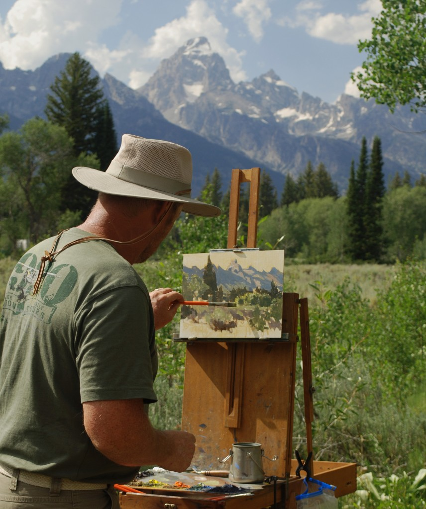 Plein air artist Wes Newton_2012 Quick Draw