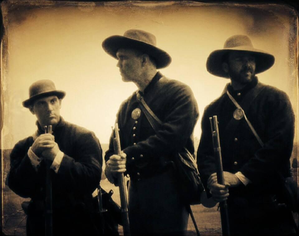 Daniel Matern and Civil War era infantry