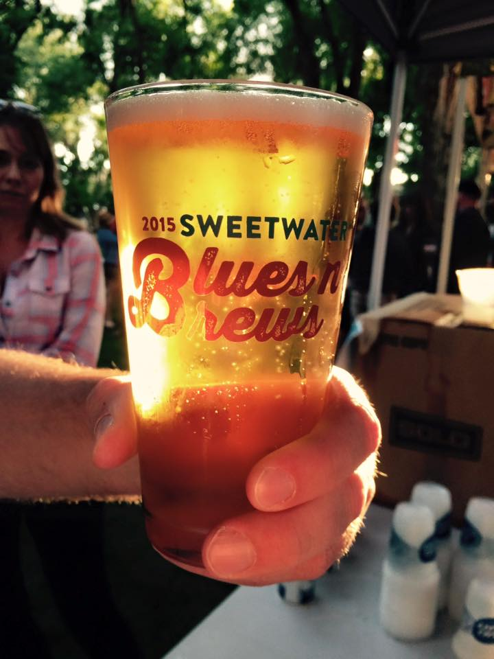 Blues n Brews glasses Aug 08 2015