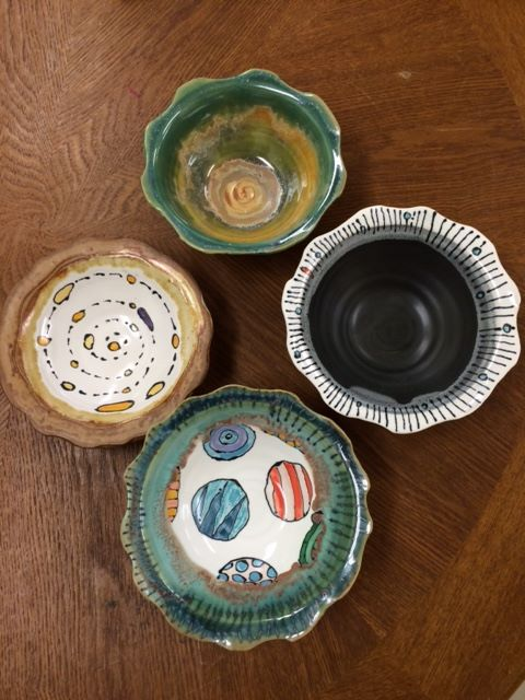 pottery by Cristin Zimmer