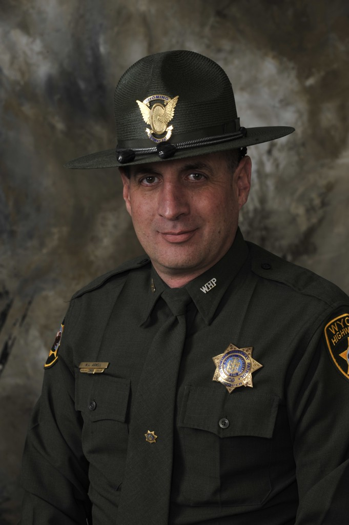 Wyoming Highway Patrol Trooper Matt Arnell, Evanston