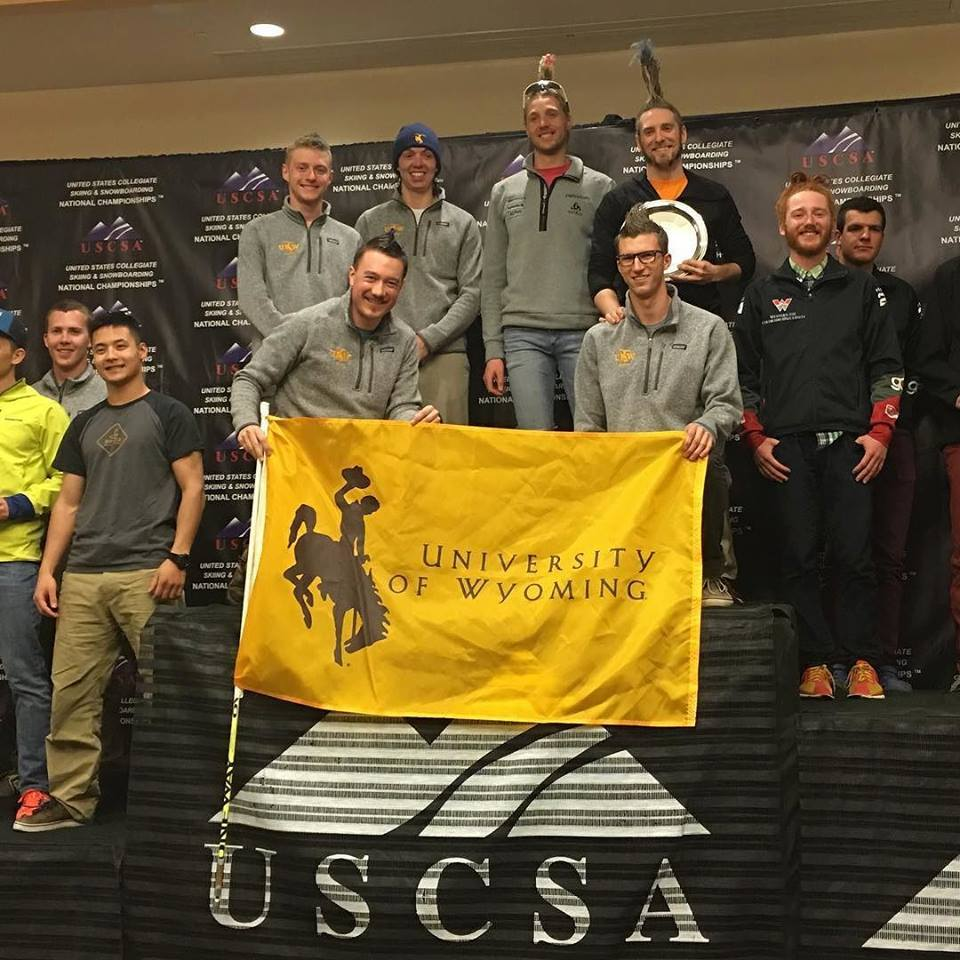 UW Nordic Mens Team Win March 2016