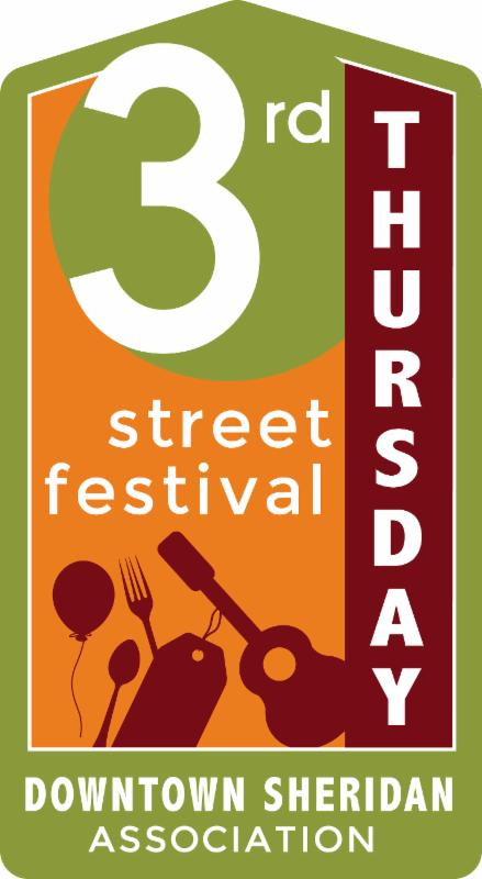 3rd Thursday Sheridan Logo July 2016
