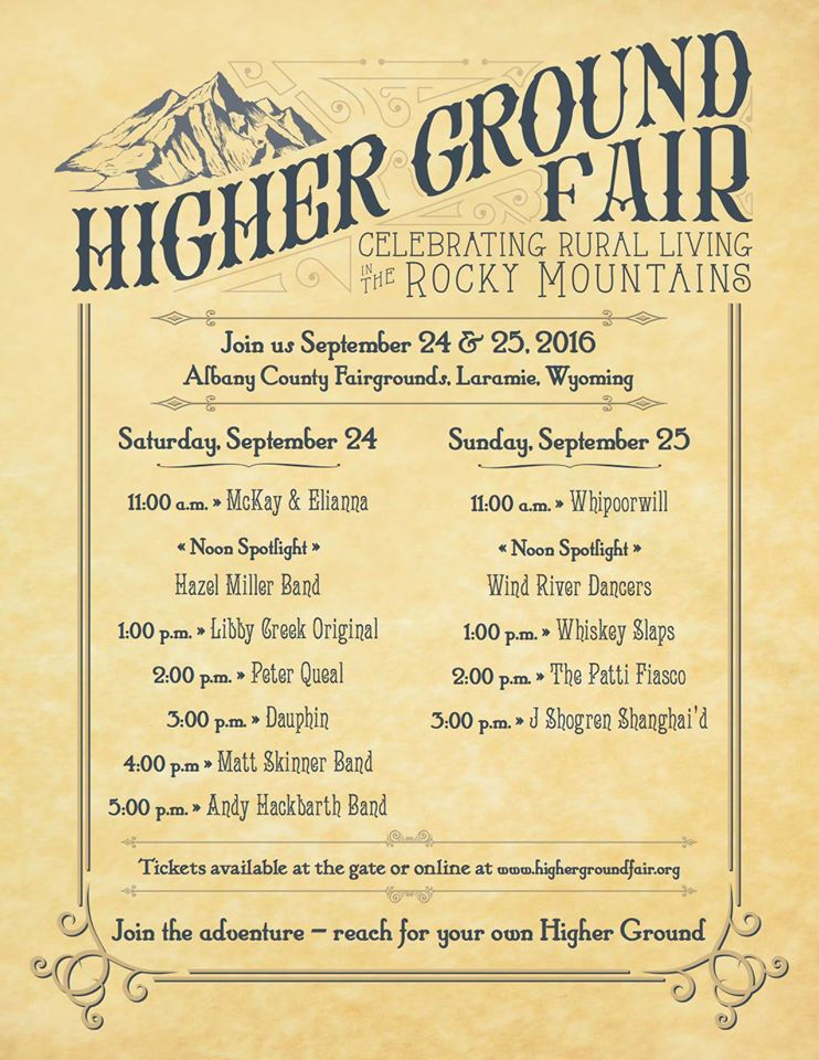 Higher Ground Fair 2016